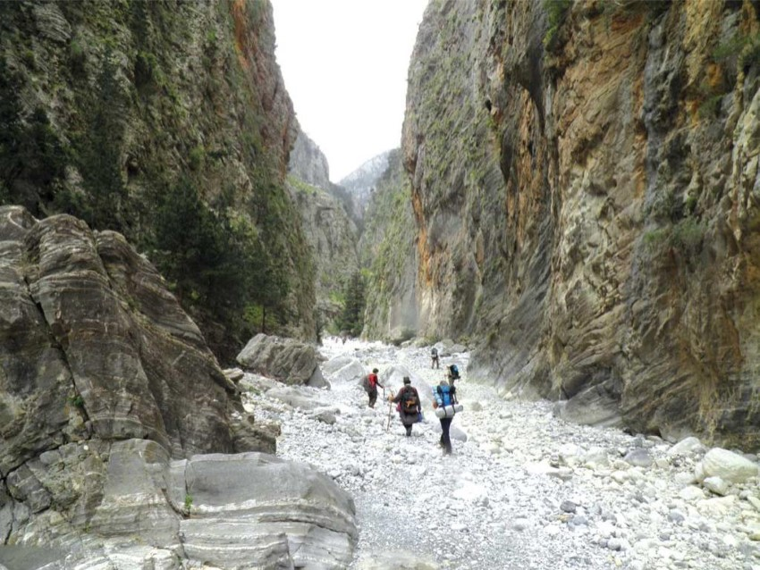 // Samaria Gorge with Chania Mountaineering Club